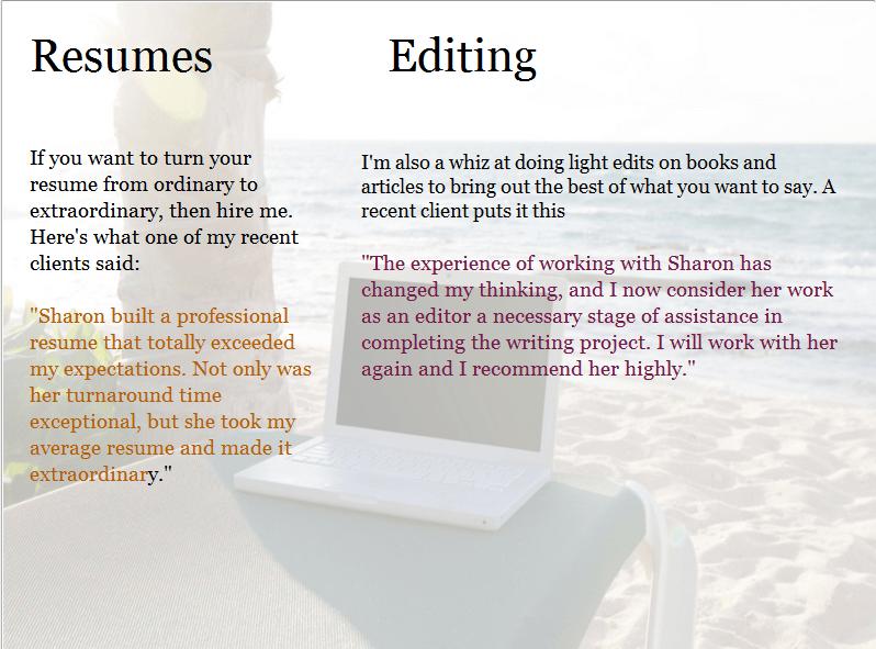 Resume writing books 2011