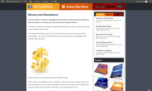 Money and Abundance homepage new