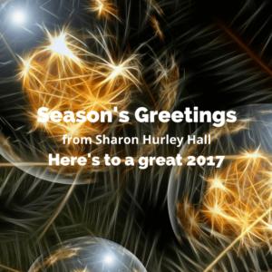 Season's Greetings 2016 from Sharon Hurley Hall